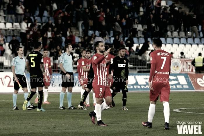 Resumen Elche 2-3 Almería en Segunda División 2017