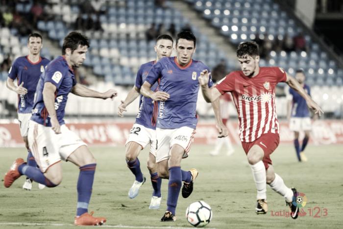Los precedentes del Real Oviedo con su siguiente rival: UD Almería