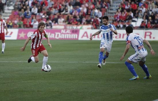UD Almería - Recreativo de Huelva: puntuaciones de la UD Almería, jornada 33