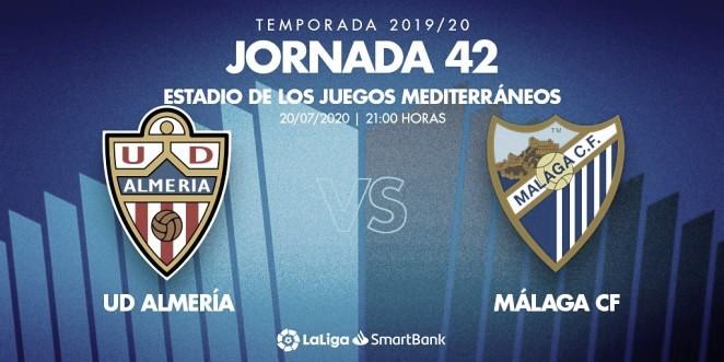 Previa U.D. Almería - Málaga CF: última jornada con el objetivo cumplido