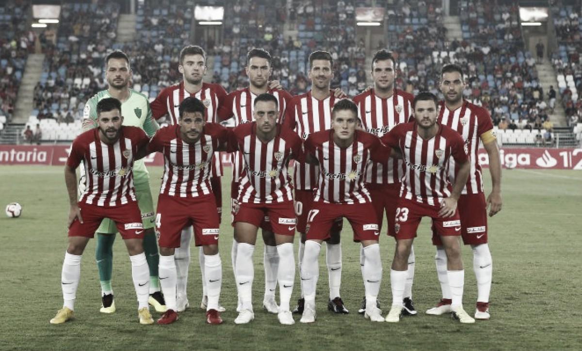 Almería - Reus, puntuaciones del Almería, jornada 7 de LaLiga 1|2|3