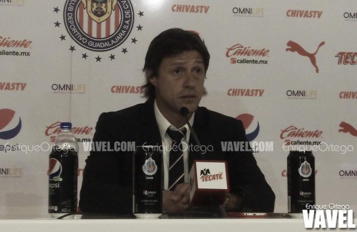 """Matías Almeyda: """"Volvimos a ver al Chivas de siempre por 20 minutos"""""""