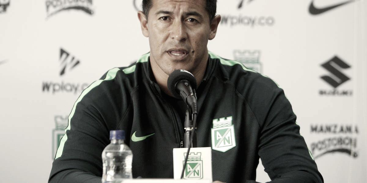 """Jorge Almirón: """"Hicimos todo lo posible por ganar el partido"""""""