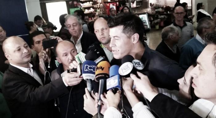 Jorge Almirón llegó a Colombia para dirigir a Atlético Nacional