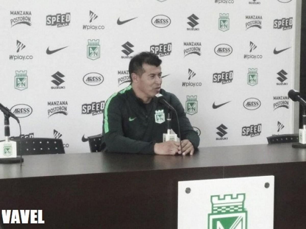 """Jorge Almirón: """"Nosotros vamos a salir a ganar como siempre"""""""