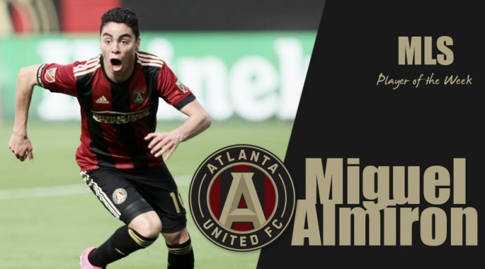 Miguel Almiron wins second consecutive MLS Player of the Week