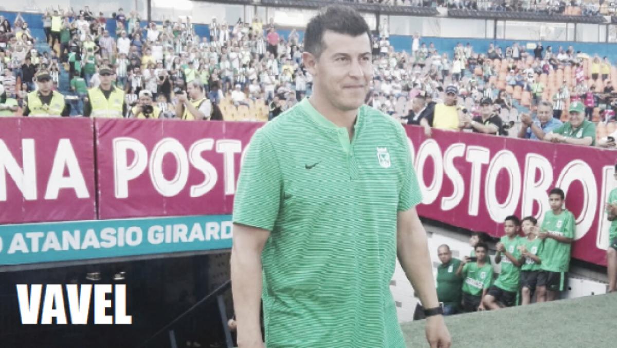 """Jorge Almirón: """"Nosotros jugamos mejor el segundo tiempo que el primero"""""""