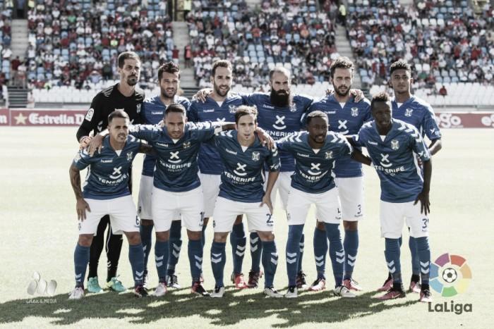 UD Almería - CD Tenerife: puntuaciones del Tenerife, jornada 5 de Segunda División