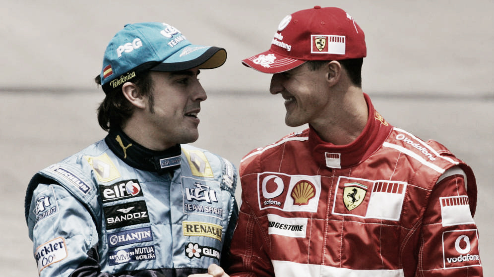"Alonso: ""Mi mayor rival ha sido Schumacher"""