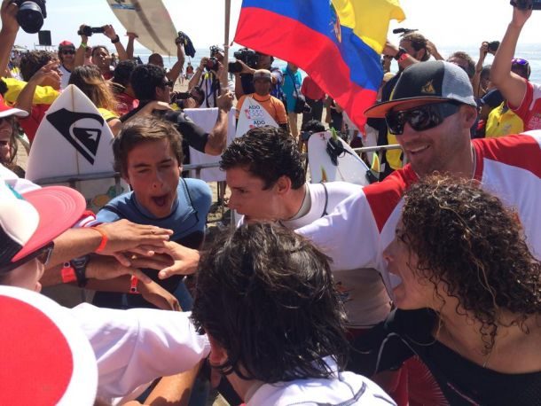Perú suma cuatro medallas doradas en los Bolivarianos de Playa