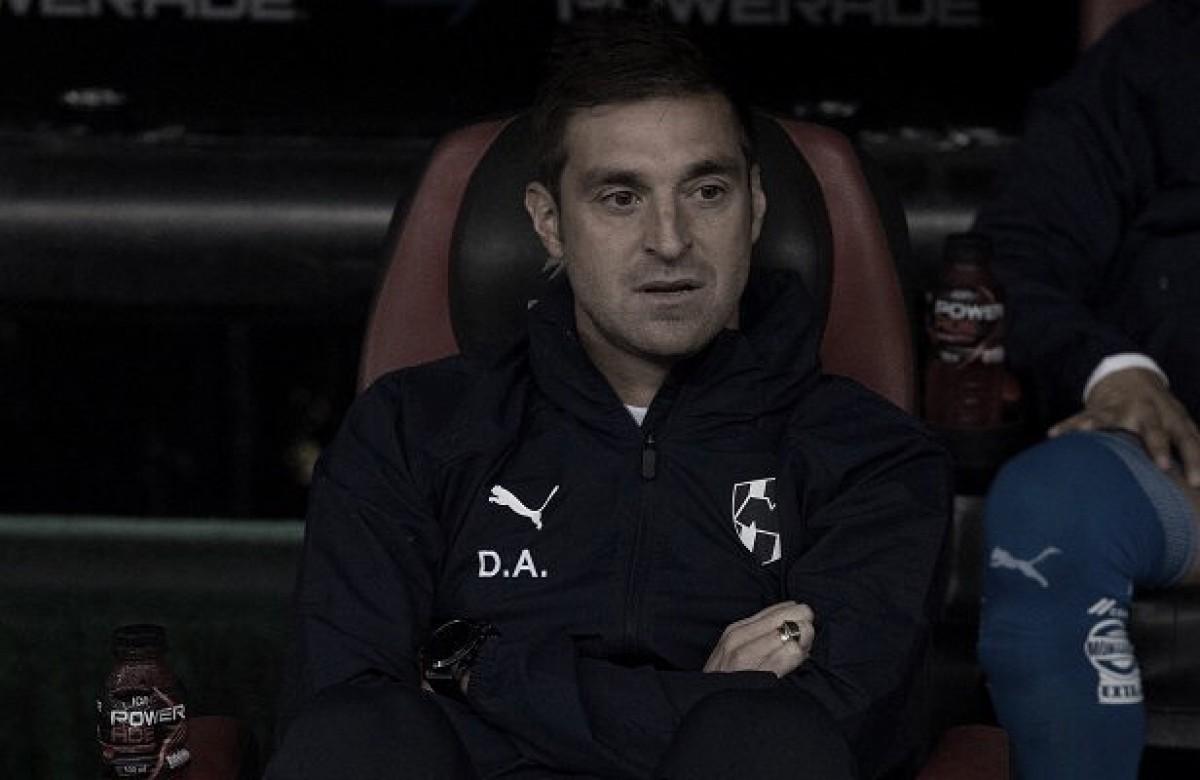 Diego Alonso: ''Si hubiéramos aprovechado las situaciones que tuvimos, no habríamos sufrido hasta el final''