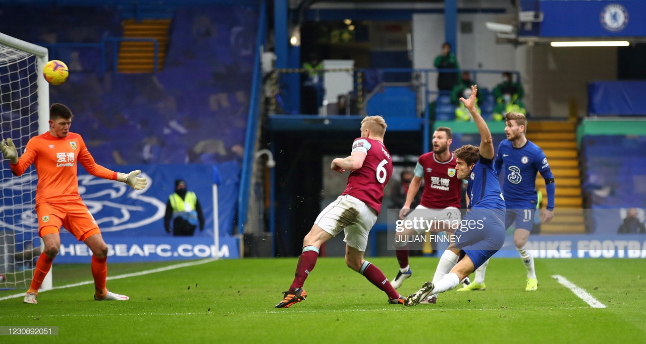 As it happened: Chelsea 2-0 Burnley