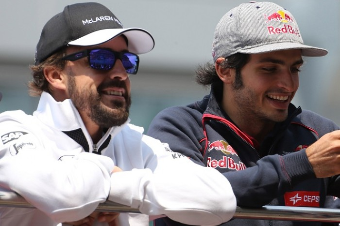 "F1, Sainz: ""Guardo sempre Alonso"""