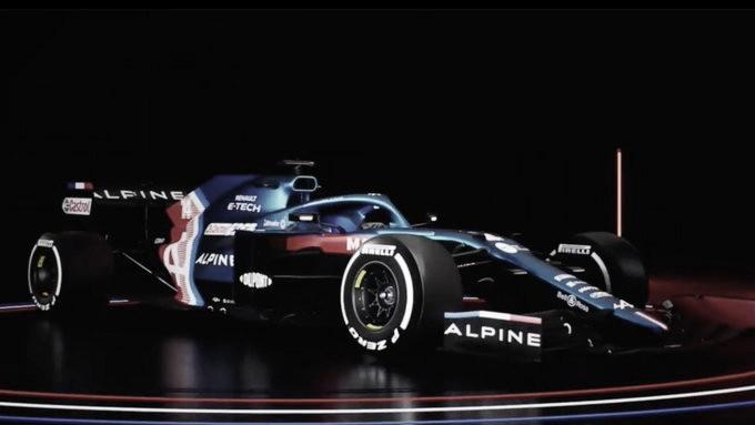 Alpine presenta la livery del A521