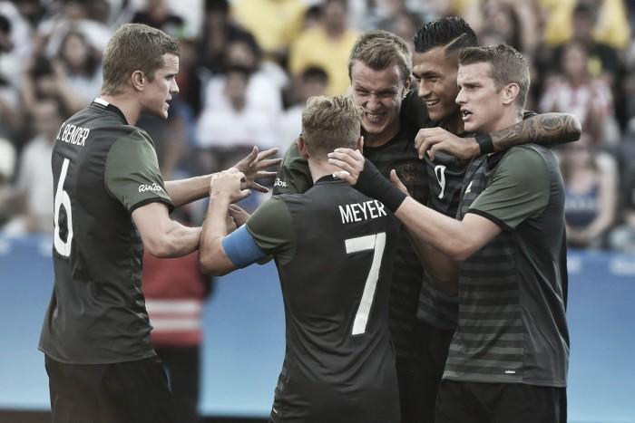 Alemanha vence Nigéria e vai à final do futebol masculino após 40 anos