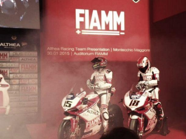 Superbike, il team Ducati Althea Racing si presenta a Vicenza