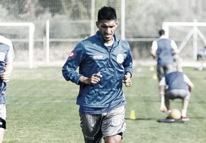 """Pablo Alvarado: """"Cuando llegó Lucas nos dijo que todos empezábamos de 0 y en todos estos partidos lo está mostrando"""""""