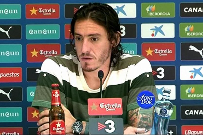 """Cristian Álvarez: """"Necesitamos el apoyo de la afición"""""""