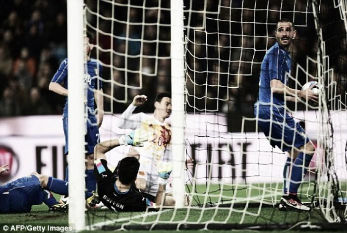 Italy 1-1 Spain: De Gea the hero as Spain share spoils with the Italians