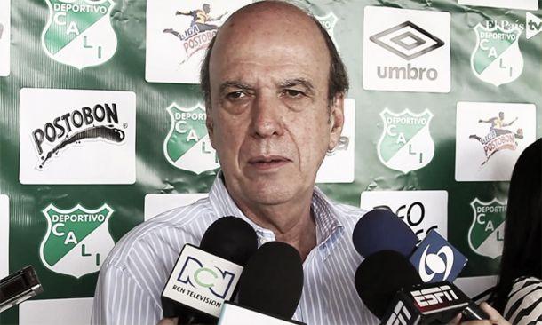 """Martínez: """"Ningún jugador viene al Cali sin el visto bueno del técnico"""""""