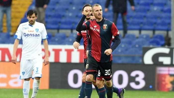 Il Genoa si prende i 3 punti con l'Empoli, i tecnici nel post