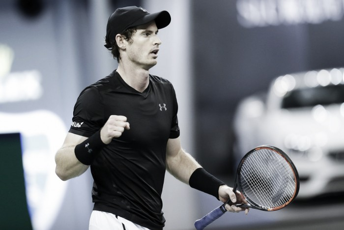 ATP Shanghai: Andy Murray puts on a dominant display to reach the quarterfinals