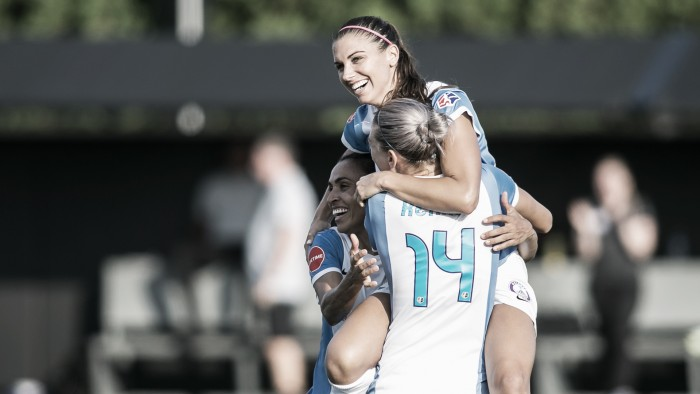 Alex Morgan named NWSL Player of the Month for August