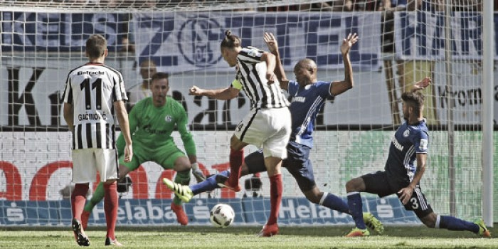 Eintracht Frankfurt 1-0 Schalke 04: Meier makes the difference for the Eagles