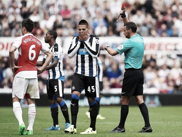 McClaren defends Mitrovic after red card