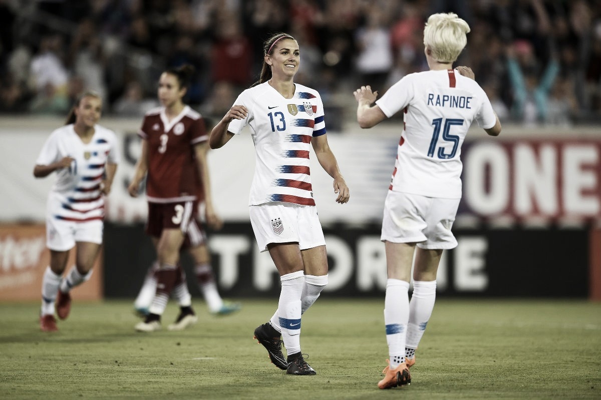 USA 4 - 1 Mexico: Alex Morgan lights up the evening