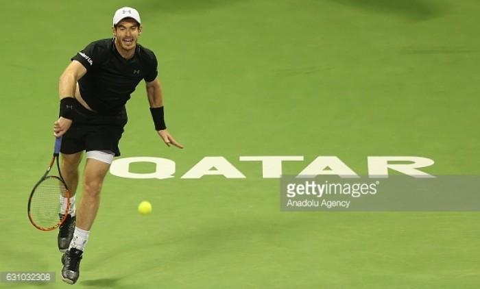 Andy Murray v Novak Djokovic: Qatar Open final
