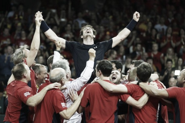 Davis Cup: Murray magic ends Great Britain's title drought