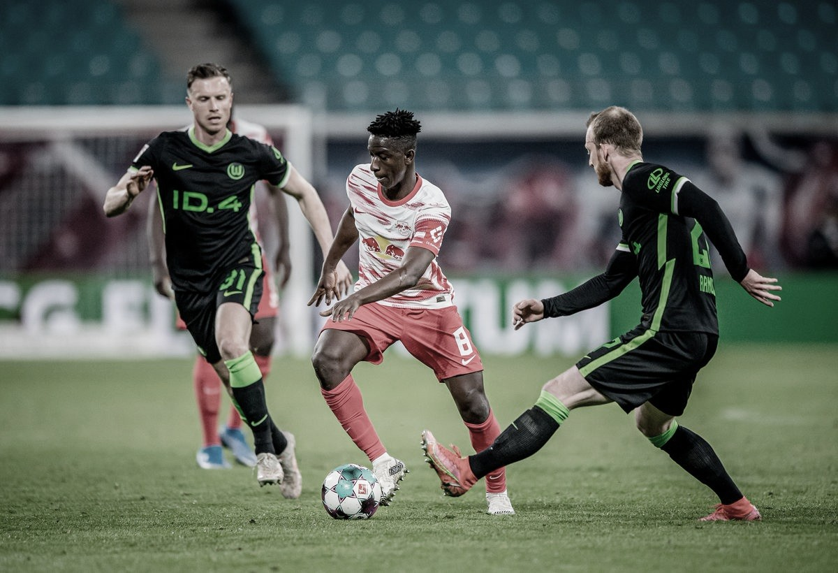 Merecido empate entre Leipzig y Wolfsburgo