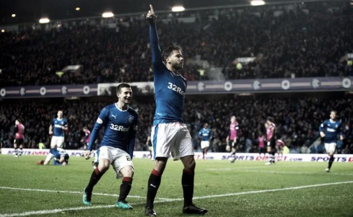 Com gol no último minuto, Rangers vence o Dundee mas segue longe do líder Celtic