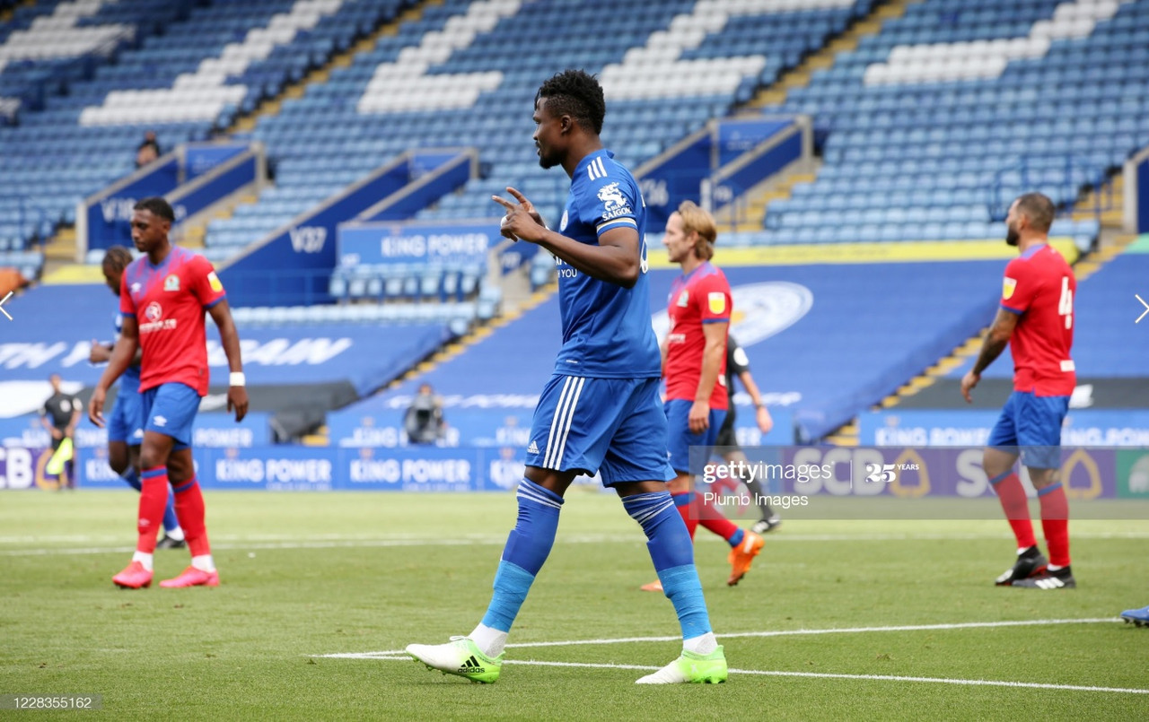 Leicester City 1-1 Blackburn Rovers: Amartey scores on return in final pre-season tie