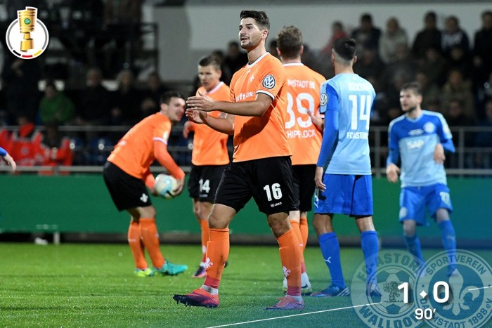 FC-Astoria Walldorf 1-0 SV Darmstadt 98: Hillenbrand the hero for hosts