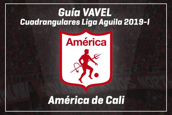 Guía VAVEL Colombia, Cuadrangulares Liga Aguila 2019-I: América de Cali