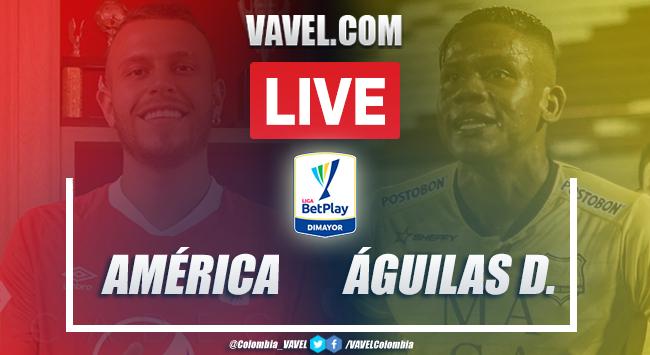 Resumen América vs Águilas Doradas (3-1) por la Liga BetPlay