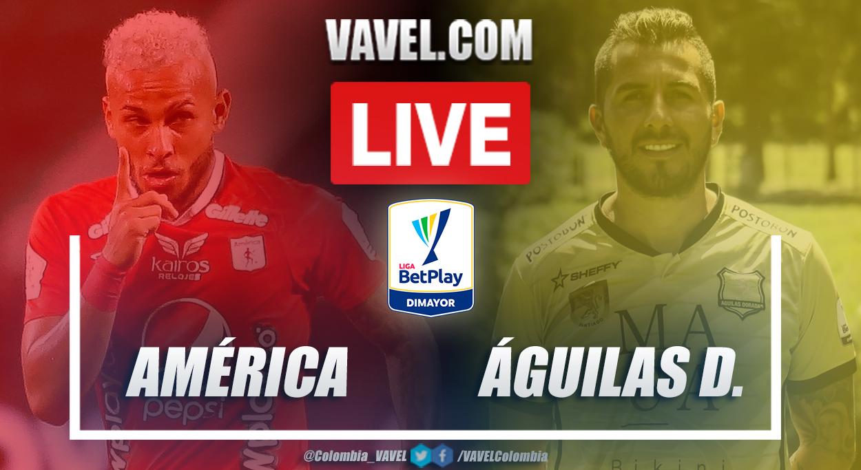 Resumen América vs Águilas Doradas (1-1) en la fecha 2 por Liga BetPlay 2021-I