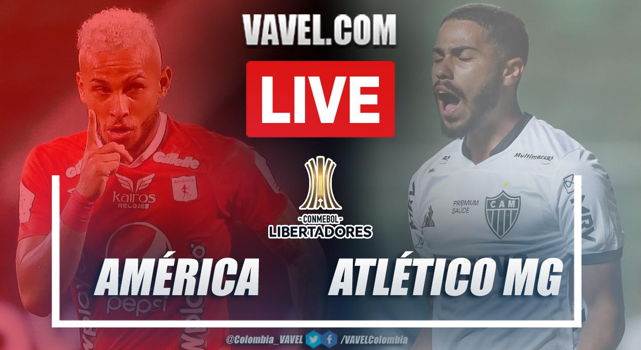 Resumen América vs Atlético Mineiro (1-3) en la fecha 4 del grupo H por Copa Libertadores 2021