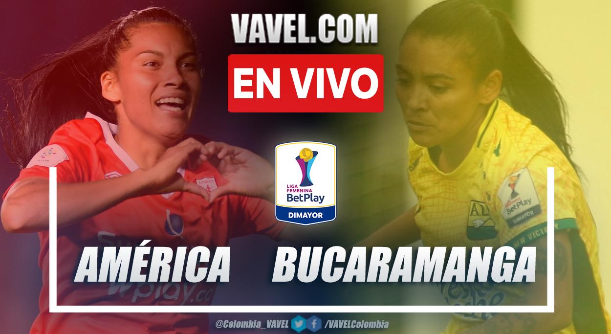 Resumen y goles: América 2-0 Bucaramanga en la fecha 4 del Grupo B por Liga Femenina 2021