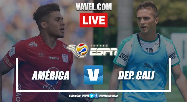Resumen América vs Deportivo Cali por el Torneo ESPN (1-0)