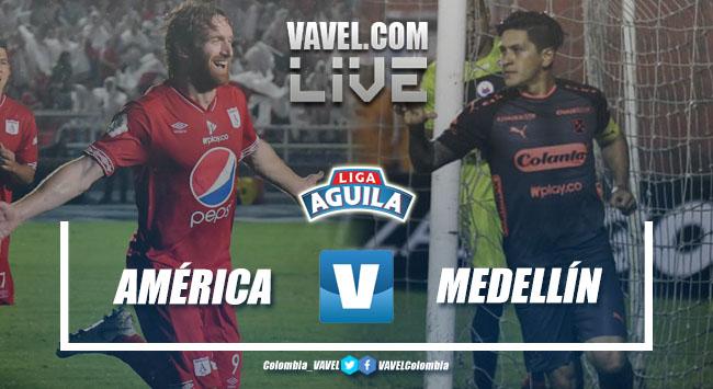 Medellín va por su primer triunfo en la Liga contra el América