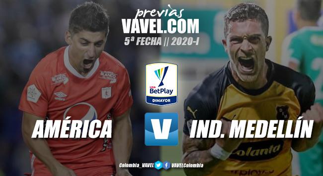Previa América de Cali vs. Independiente Medellín: a encender la caldera 'escarlata'