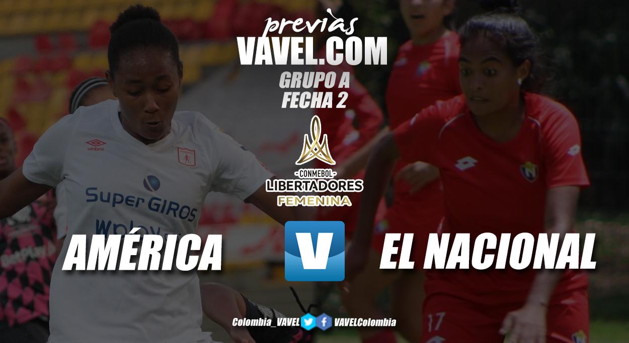 Previa América de Cali vs El Nacional: segundo partido, aspiraciones iguales