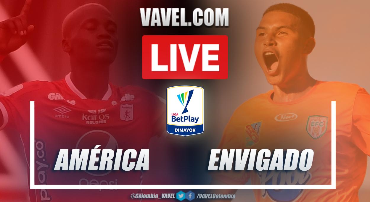 Resumen América vs Envigado (0-0) en la fecha 9 por Liga BetPlay 2021-I