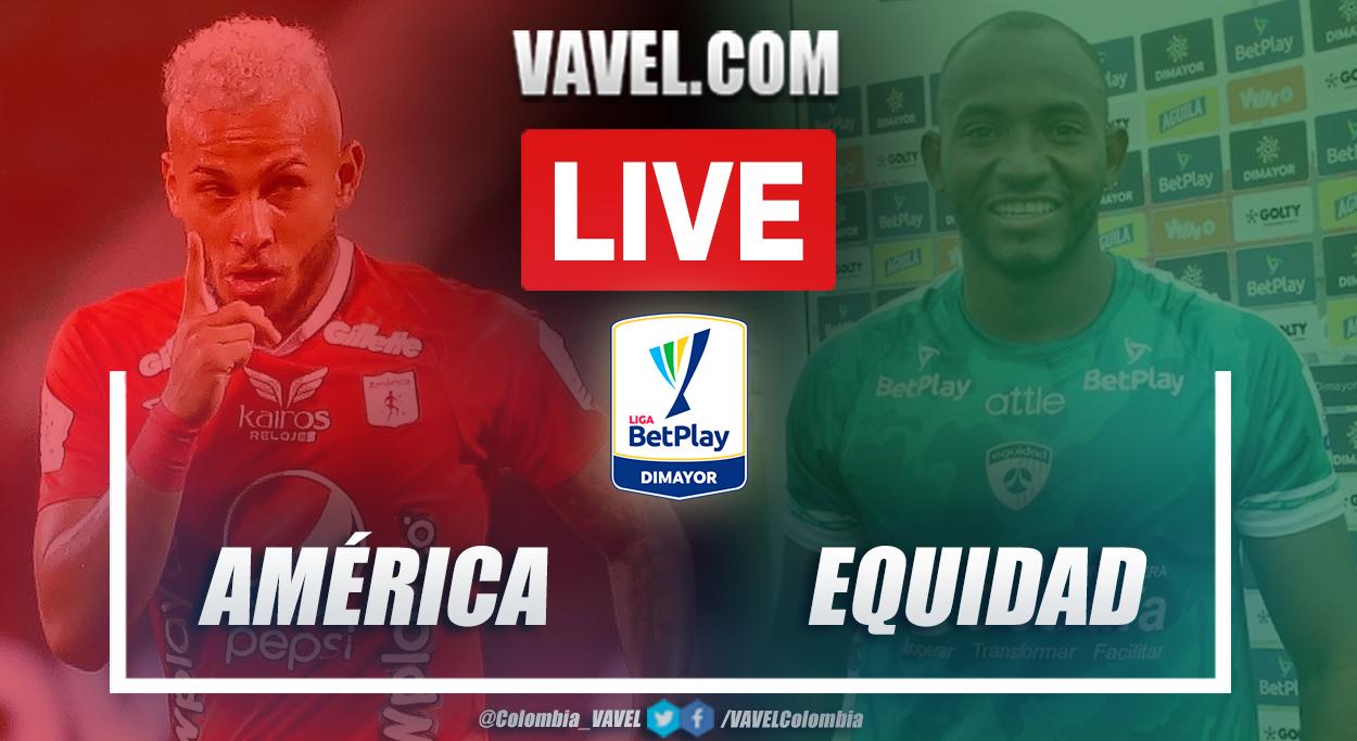 Resumen América vs Equidad (0-1) en la fecha 17 por Liga BetPlay 2021-I