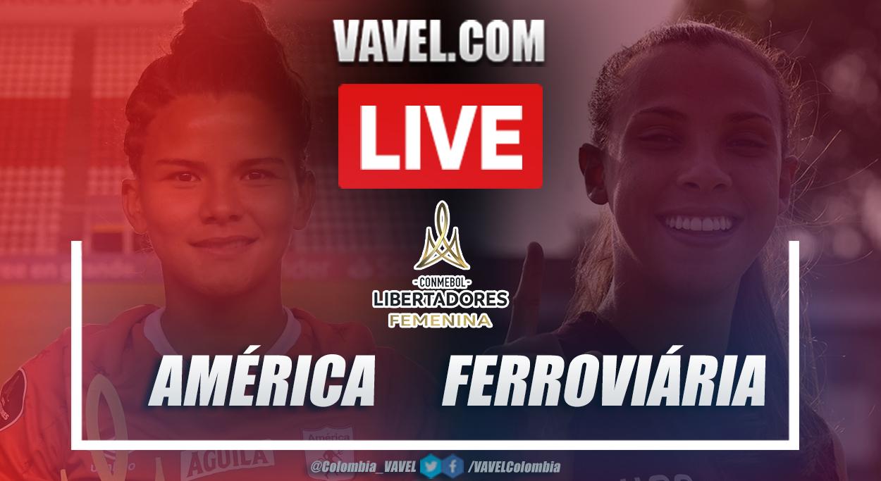 Resumen América vs Ferroviária (1-2) en final de Copa Libertadores Femenina 2020