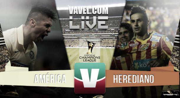 Resultado América - Herediano en la Concachampions 2015 (6-0)