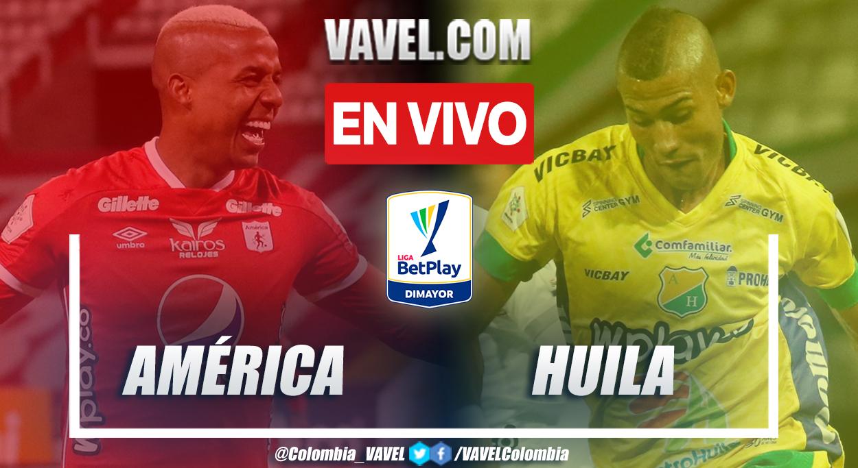 Resumen América vs Huila 1-0 en la fecha 12 por Liga BetPlay 2021-II